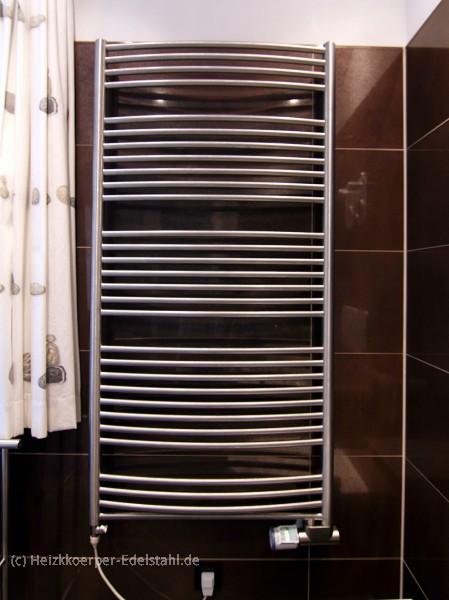 75 x 113 cm badheizk rper inox edelstahl gerade o gebogen heizkoerper. Black Bedroom Furniture Sets. Home Design Ideas
